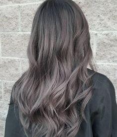 Aschbraun ist der neue Haarfarben-Trend 2018   ELLE