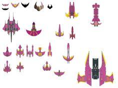 babalon 5 starships | Babylon 5 Ships Designs http://humonb.deviantart.com/art/Babylon-5 ...