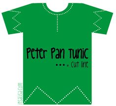 THIS GOES WITH A POT OVER THE MANS PRIVATES AND THAT IS THE COSTUME Peter Pan Shirt Pattern