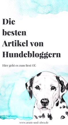 Fachwissen, Lustiges und mehr Info rund um den Hund: die besten Artikel von deutschen Hundeblogs. Gut recherchiert und von uns absolut empfohlen! #hundeblog #blog #hund | Hundeblog, Blog, Hunde, Fotografie, DIY, Humor, Wissen, Gesundheit | Aram und Abra | www.aram-und-abra.de