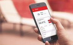Heizung komfortabel per App steuern Hoval führt SmartHome-Lösung HovalConnect ein. Die Heizung aus der Ferne steuern – für Hauseigentümer dank HovalConnect kein Problem. Die neue Plattform samt gleichnamiger mobiler App bietet einen Fernzugriff auf die wichtigsten Funktionen von Heizung und Komfortlüftung, informiert bei etwaigen Störfällen und ermöglicht die Kontrolle historischer Verbrauchsdaten. #Hoval #HovalConnect #SmartHomeLösung Mobile App, Galaxy Phone, Samsung Galaxy, Warm Bathroom, Weather Forecast, Solar Installation, Home Technology, Platform, Velvet