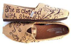 Toms Shoes OFF!>> The Proverbs 31 – Burlap TOMS Shoes with Bible Verse – louis vuitton shoe women Cheap Toms Shoes, Toms Shoes Outlet, Shoe Boots, Shoes Heels, Pumps, Dress Shoes, Flats, Cute Shoes, Me Too Shoes