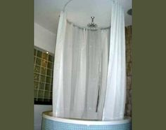 Home Shower Curtain Rods Window Styles Ceiling Mounted Curtain