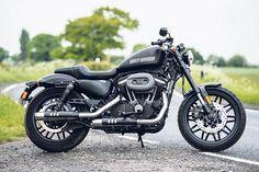 Flicking the Vs: Harley Roadster v Victory's Octane   MCN