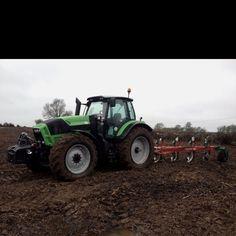 Deutz-Fahr Agrotron L730 on test with Kverneland 5-furrow plough