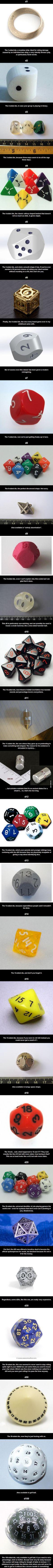 The Wonderful World of dice. -og fordi jeg elsker at smadre pinterest med kilometerlange pins :)