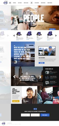 Cool Automotive Web Design. Volvo. #automotive #webdesign [http://www.pinterest.com/alfredchong/]
