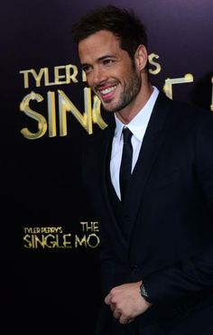 Actor William Levy poses on arrival for the World Premiere of the film 'Tyler Perry's The Single Moms Club' in Hollywood, California on March 10, 2014. The film opens nationwide on March 14. AFP PHOTO/Frederic J. BROWN AFP