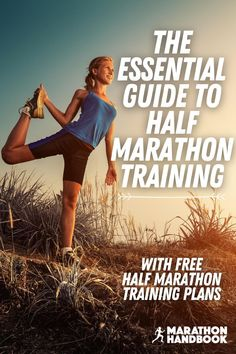 Half marathon training – getting yourself ready to run those 13.1 miles (or 21.1 kilometers) is a huge topic!  This post explained exactly how to run a half marathon, half marathon training and preparation – whether it's getting started, training runs, cross training, nutrition, gear, race prep!We've also opened up our library of free, downloadable half marathon training plans Half Marathon Tips, Half Marathon Motivation, Running Half Marathons, Half Marathon Training Plan, Marathon Running, Running For Beginners, How To Start Running, Running Tips, Cross Training