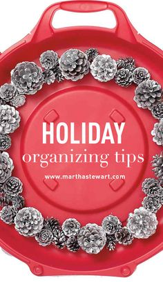 Holiday Organizing Tips | Martha Stewart Living