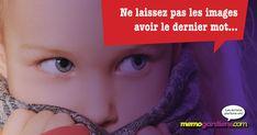 Ne laissez pas les images avoir le dernier mot dans la vie de votre enfant! Images, Words, Kid