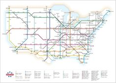 interesting look at the interstate system