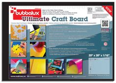 FLOORTEX Craftex Bubbalux Ultimate Craft Board (Set of 2)