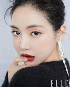 Son Naeun - Elle Magazine ~ You Only Live Once Makeup Inspo, Makeup Inspiration, Beauty Makeup, Eye Makeup, Hair Makeup, Hair Beauty, Asian Makeup, Korean Makeup, Korean Beauty
