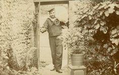Charles King, Caretaker of Worthing Library  1908