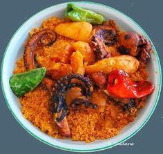 Recette 100% Tunisienne: Recette couscous belkarnit ou couscous aux poulpes