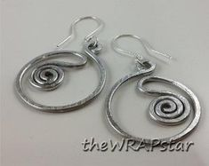Aluminum Wire Wrapped Jewelry Handmade Wire by theWRAPstar on Etsy, $9.95 by tototwo2