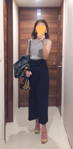 Stylish Navy Pants Work Outfit to Try 05 Stylish Outfits, Fashion Outfits, Fashion Trends, Fashion Ideas, Work Outfits, Denim Jacket Fashion, Fashion Pants, Fashion Clothes, Latest Fashion For Women