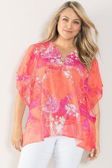 Sara Ring Detail Kaftan at EziBuy Australia. Buy women's, men's and kids fashion online. Sheer Chiffon, Chiffon Fabric, Kaftan Style, Flutter Sleeve Top, Beautiful Blouses, Online Clothing Stores, Work Casual, Lace Tops, Fashion Outfits