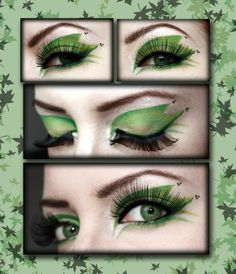 poison ivy makeup- for halloween Poison Ivy Cosplay, Poison Ivy Halloween Costume, Poison Ivy Costumes, Halloween Cosplay, Halloween Make Up, Halloween Face Makeup, Halloween Costumes, Halloween 2018, Fairy Makeup