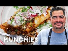How To Make Chile Colorado Burritos with Aaron Sanchez How to make - Reality Worlds Tactical Gear Dark Art Relationship Goals Mexican Cooking, Mexican Food Recipes, Mexican Chef, Chilis, Chile Colorado Burritos, Chili Colorado Recipe, Chile Pasilla, Mexican Dishes, Gourmet