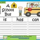 January of April Bus Safety lesson ' Kindergarten Writing, Kindergarten Classroom, Kindergarten Activities, School Fun, School Ideas, Back To School Videos, School Bus Safety, Thinking Maps, 1st Grade Writing