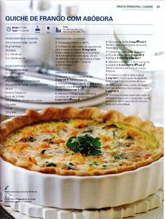150 receitas - As melhores de 2012 Sin Gluten, Lean And Green Meals, Portuguese Recipes, Happy Foods, I Foods, Food Inspiration, Food To Make, Food And Drink, Yummy Food