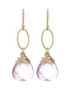 Moonrise Jewelry - Cairo Earrings- Pink