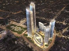 Image 21 of 24. Forum 66 Tower 2 in Shenyang, China — 1,150 feet. Image © z0rg/SkyscraperCity