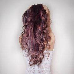 In love with this rose gold hair color www.gorgeousgirl.com