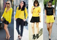 O amarelo vai invadir a moda do verão 2016