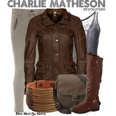 Inspired by Tracy Spiridakos as Charlie Matheson on Revolution.