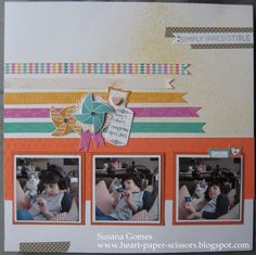 This is the Make & Take for May Home Gatherings! Features Dream Pop papers, May Stamp of the Month and Enjoy stamp set.