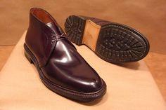 Alden cordovan #8 chukkas with commando sole