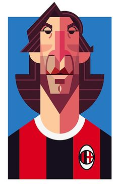 Playmaker: Soccer Illustrated Portraits