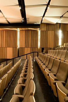 Gallery - New Pavilion for the McGill University Schulich School of Music / Saucier + Perrotte architectes - 8 Hall Interior, Interior Design Photos, Commercial Interior Design, Office Interior Design, Commercial Interiors, Interior Design Services, Office Interiors, Auditorium Design, Auditorium Seating