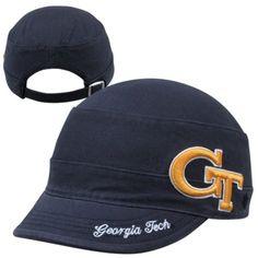 $24.95 '47 Brand Georgia Tech Yellow Jackets Ladies Avery Adjustable Hat - Navy Blue