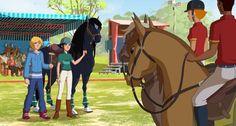 Jeux et activités LE RANCH - TV5 Monde Jeunesse Tv5 Monde, Le Ranch, Horse Animation, Star Stable, Beautiful Horses, Terra, Scarlet, Cool Art, Entertainment