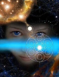 You are a child of light from all the atoms that came from the stardust of an explosion billions of years ago. You are the light you carry with you, the light of oneness, and the light of pure consciousness. Spiritual Images, Spiritual Wisdom, Tarot, Child Of Light, First Contact, Visionary Art, Sacred Geometry, Awakening, Mystic