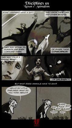Vampires Suck - (55) Disciplines 101: Animalism