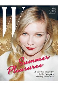 W magazine May 2014 | Kirsten Dunst