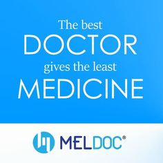 The Best Doctor gives the least Medicine Doctor Assistant, Good Doctor, Medicine, Good Things, Medical