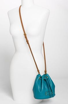 MARC BY MARC JACOBS Too Hot to Handle - Mini Leather Drawstring Crossbody Bag   Nordstrom