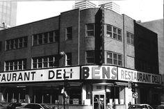 Bens...smoked meat & deli on Rue Maisonneuve, Montreal