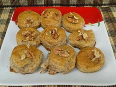 Heti recept: Camembert sajtos - diós pogácsa Naan, Muffin, Paleo, Breakfast, Christmas, Dios, Morning Coffee, Xmas, Beach Wrap