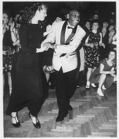Lindy Hop icon Frankie Manning.