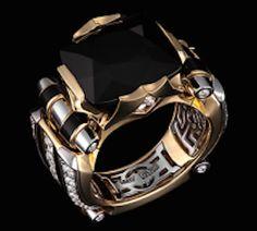 Golden ring  - Black Prince. Onix & Diamonds -- 4500$/ 5500$/6500$/7500$/8500$