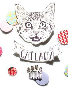 Hey, I found this really awesome Etsy listing at https://www.etsy.com/listing/179272210/cat-lady-temporary-tattoo
