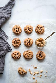 Cookies beurre de cacahuètes & pépites de chocolat