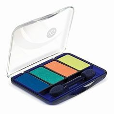 COVERGIRL EYE ENHANCERS: I love these mini eye shadow combos. I have the one shown (Tropical Fusion) & Coffee Shop. I use the first one when I am going to concerts and want a really wild look. I use the second one more towards an every day look. I also use the dark brown to strengthen my eyebrows. The colors blend VERY well and as long as I do the prep for it, the colors last all day. The only thing that is a pain is that some particles from one color have a habit of getting into the other…